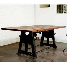 wood counter height table dining room vintage reclaimed wood counter dining table with