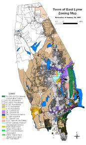 Boston Zoning Map by Zoning Commission Town Of East Lyme