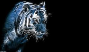 tiger lights animation hd wallpaper 3d pinterest tigers