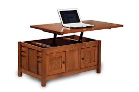 flip top coffee table amish mission lift top storage coffee table computer occasional