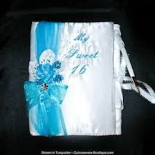 sweet 16 guest sign in book quinceanera guest book de colores sweet 16 guest book