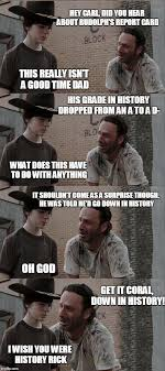 Best Walking Dead Memes - coral walking dead memes rick dick grimes coral meme collection