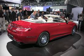 maybach sports car mercedes maybach handpicking customers for the new s650 cabriolet