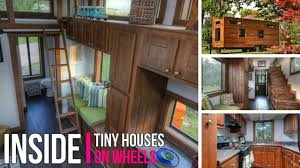 inside tiny houses on wheels best tiny house 2017 youtube