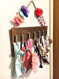 baby headband holder diy baby headband bow holder blissful brians