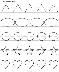 free worksheets color shapes worksheet free math worksheets