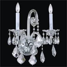 Vintage Crystal Sconces Traditional Crystal Wall Sconce Dynasty 557 U2013 Glow Lighting