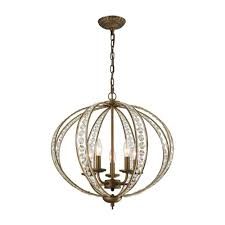 Crystal And Bronze Chandelier Titan Lighting Elizabethan 5 Light Dark Bronze Chandelier With