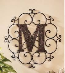 family initial monogram antique look 20 any letter available
