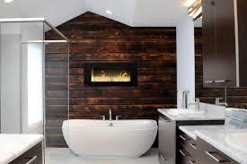 Accent Wall In Bathroom Bathroom Luxury Bathroom Wood Accent Wall Reclaimed Bathroom