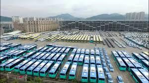 100 electric bus fleet for shenzhen population 11 9 million by