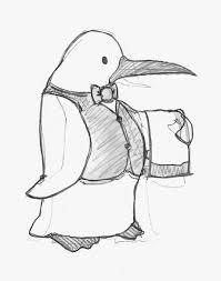 be my guest u2013 penguin invite sketch illustrious illustrations