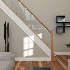 Best Stair Gate For Banisters Best 25 Oak Stairs Ideas On Pinterest Glass Stair Railing