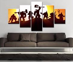 Living Room Art Paintings Online Get Cheap Warcraft Poster Aliexpress Com Alibaba Group