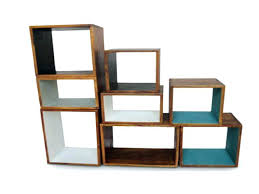 bookcase mango wood cube bookcase solid wooden cube shelves wood