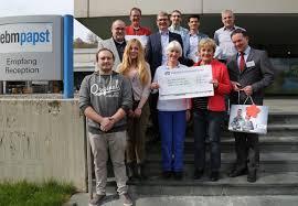 Caritas Krankenhaus Bad Mergentheim 13 000 Euro Gehen An Kinderkliniken Und Tafelläden Ebm Papst