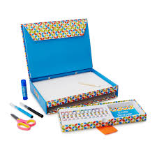 on the go art set arts and crafts for kids uncommongoods