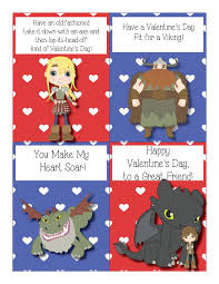train dragon valentine cards free printables