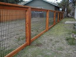 Backyard Fencing Ideas by Types Of Fences For Backyard Beauty And Privacy Fence Ideas