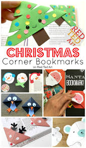 easy christmas bookmark ideas for kids red ted art u0027s blog