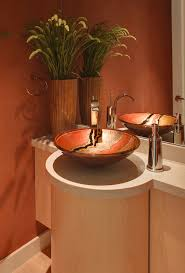 powder room sink with wall mirror powder room contemporary and