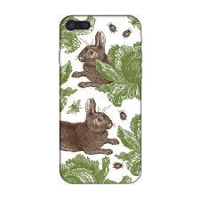 classic rabbit rabbit cabbage iphone by thornback peel