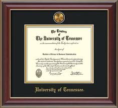 frame for diploma of tennessee diploma frames online framing gifts