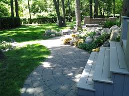 garden landscapes ideas outdoor u0026 garden design decorative natty unilock pavers for