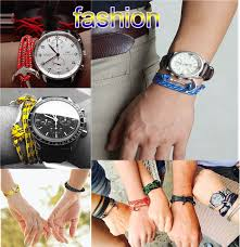 anchor leather bracelet man images 2018 alibaba fashion silver jewellery stainless steel clasp men jpg