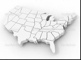 Kids Map Of The United States by Beautiful North America Map Coloring Page Kids With United States
