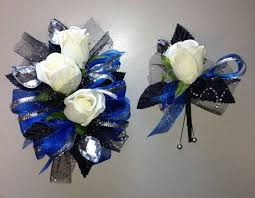 royal blue corsage royal blue prom corsage black and white top wedding ideas i 3