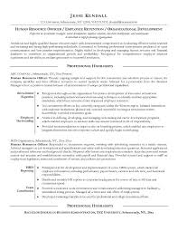 hr resume templates old version old version hr recruiter free
