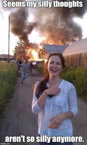 Disaster Girl Meme Generator - disaster girl grown up imgflip