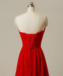 aliexpress com buy gardlilac chiffon red bridesmaid dress plus