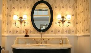 Oval Bathroom Mirrors Brushed Nickel Design Oval Bathroom Mirrors Innovative Ideas Brushed