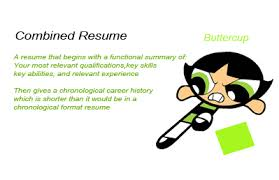 Combined Resume Ovatising Ova Advertising 3 Types Of Resume And Their