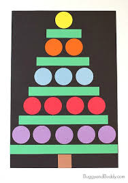 Arts And Crafts Christmas Tree - 45 christmas crafts for 3 year olds how wee learn