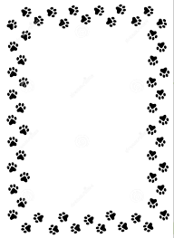 paw print tattoos on dog paw prints scroll clipart 3 4 2 wikiclipart