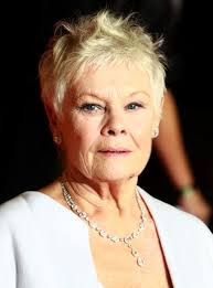 judi dench hairstyle front and back of head the best pixie haircuts of all time from jean seberg to judi dench