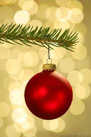 tree ornaments invitation template