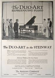 ad un piano 1924 steinway duo reproducing piano ad vintage ads misc