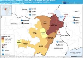map of nigeria africa and central africa east nigeria and