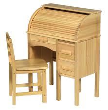 Oak Roll Top Secretary Desk amazon com guidecraft jr roll top desk color light oak toys