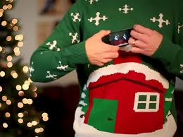 digitally animated ugly christmas sweaters bring kitsch to a new