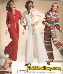 sears jumpsuits plaid stallions rambling and reflections on 70s pop culture