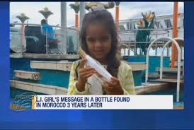Watch message in a bottle turns up in morocco after three years