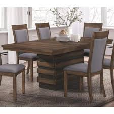 dining table with hidden chairs coaster furniture dining tables octavia 107391 dining table with