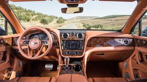 bentley interior 2016 bentley bentayga 2016 us review by car magazine