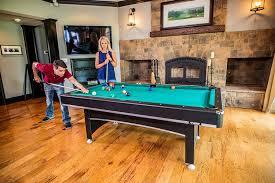 amazon com triumph sports phoenix 7 u0027 billiard table with table