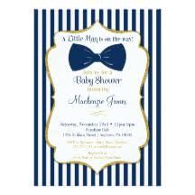 bow tie baby shower invitations bow tie invitations announcements zazzle